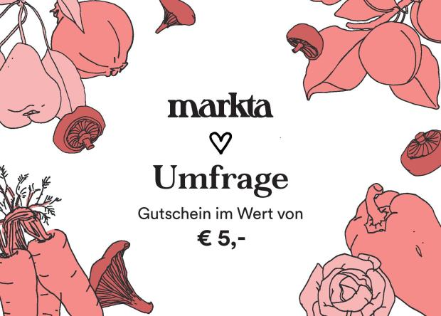 markta-Umfrage Gutschein